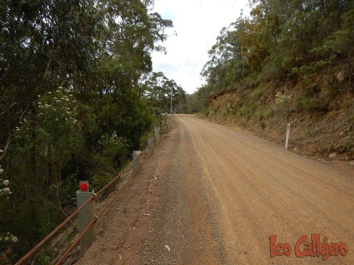 Australia (Tasmania) –  Paseo en bici hasta la casa de Sarah