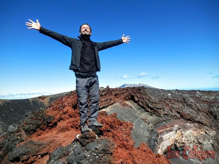 Nueva Zelanda (Rangataua) – Subiendo al Ngauruhoe
