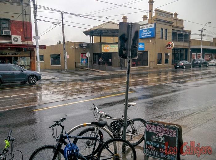 Australia (Melbourne) – Llueve