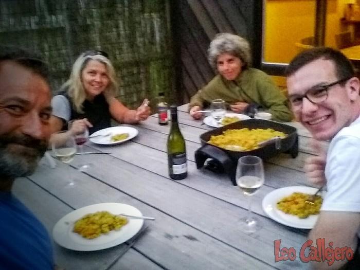 Nueva Zelanda (Rangataua) – Día de vino y risas…