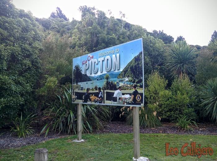 Nueva Zelanda (Picton) – Viajando a Picton
