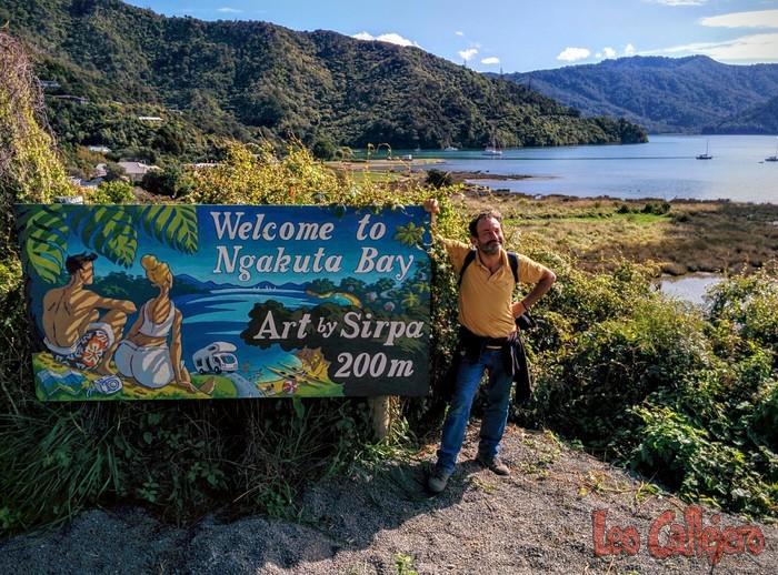 Nueva Zelanda (Picton) – Día de relax en Ngakuta Bay.