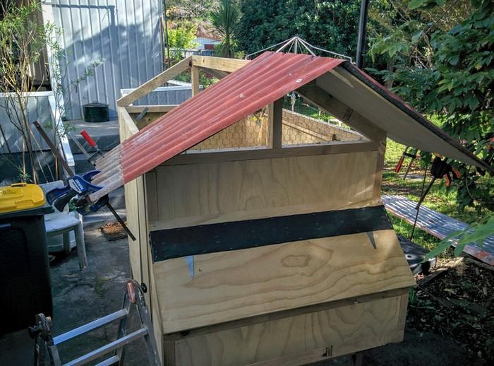 Nueva Zelanda (Whangeteau) – Batalla contra el tejado