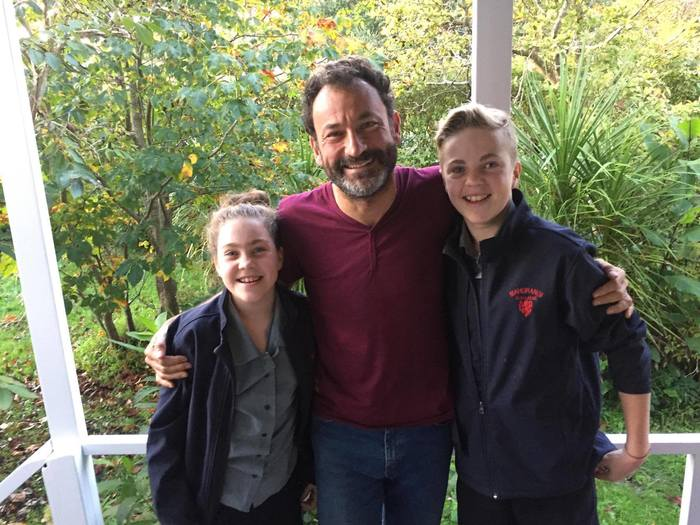 Nueva Zelanda (Whangateau) – Inaugurando el gallinero