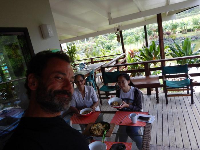 Cook Islands (Rarotonga) – El barco que se hunde