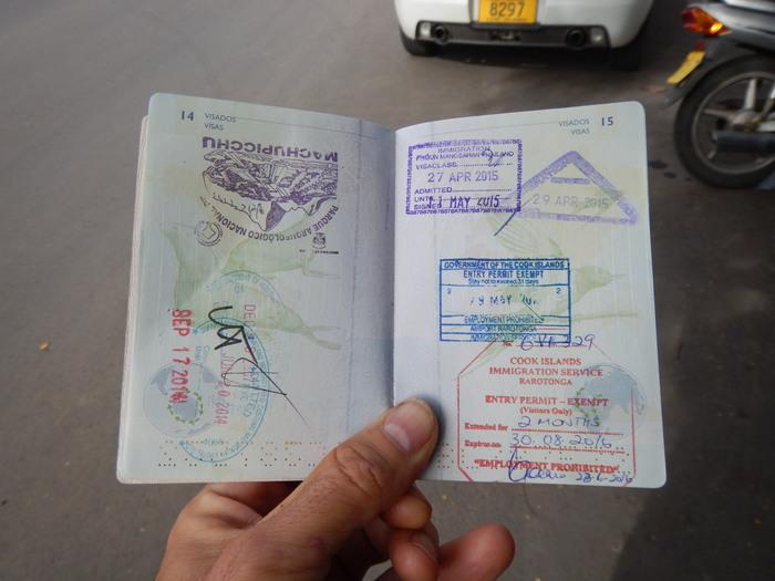 Cook Islands (Rarotonga) – Visa extension