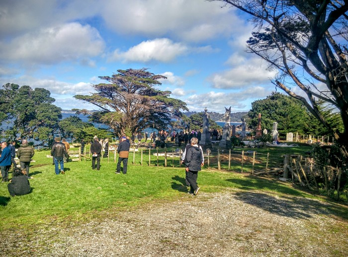New Zealand – Funeral maorí