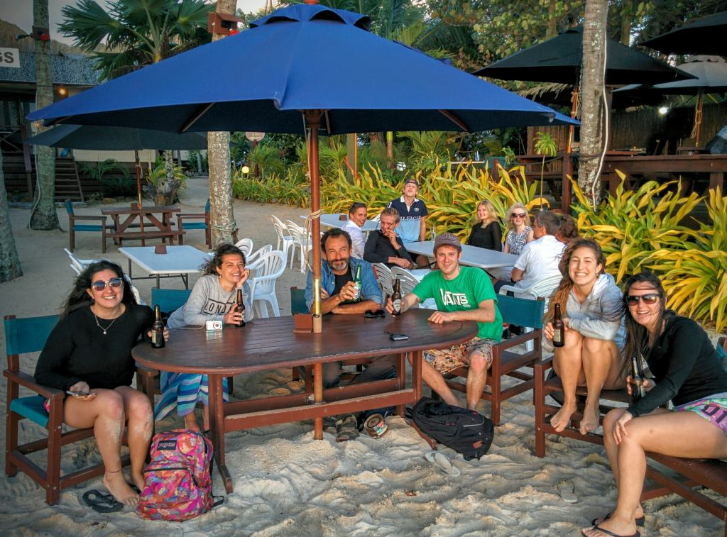 Cook Islands (Rarotonga) – Encuentros, despedidas y montaña