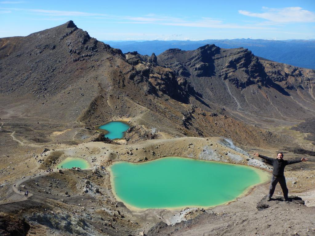 Nueva Zelanda (Rangataua) – The Tongariro Alpine Crossing
