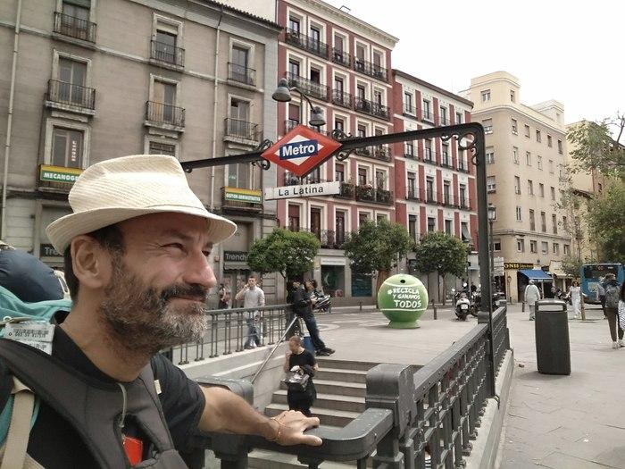 España (Madrid) – Sí, estoy en Madrid.