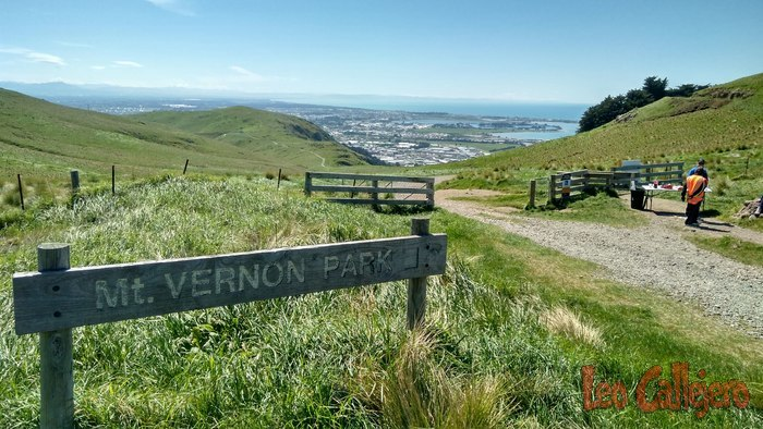 New Zealand (Christchurch) – Visitando el Mt. Vernon